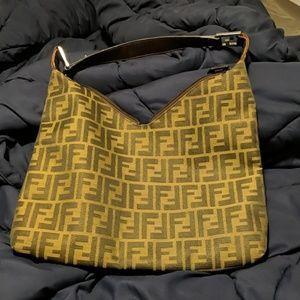 Offer, Authentic 80's Fendi Handbag Medium